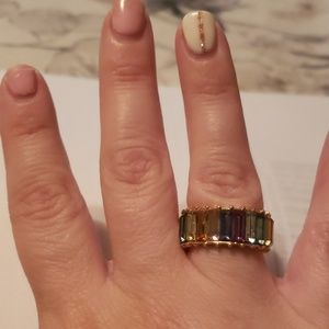 Baublebar Alidia rainbow ring size 6
